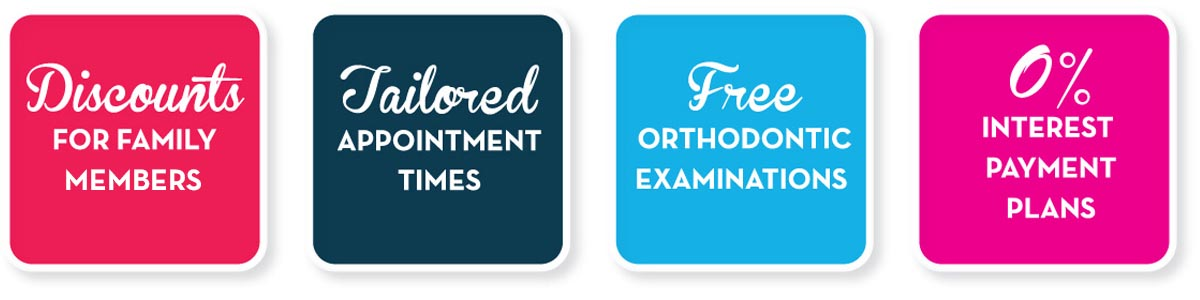 Discounts, appointments, examinations & payment plans at West Coast Orthodontics